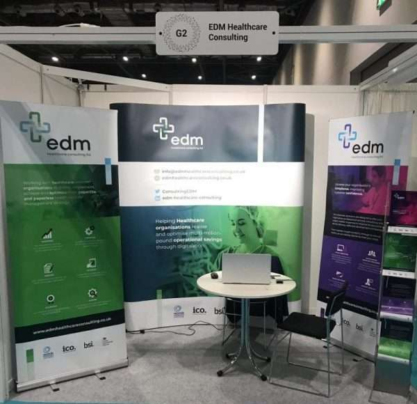 EDM Healthcare Consulting are here at HETT 2019